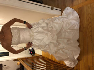 Never worn Maggie Sottero wedding dress