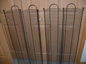 Wire Storage Racks - DVD's
