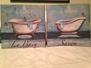 Pictures/art on canvas-priced individually