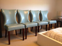 Teal Chair Set