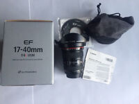 Canon 17-40f4 MIND CONDITION like NEW