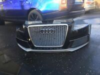 Genuine Audi rs3 honey Comb grill face lift rs3 Audi A3