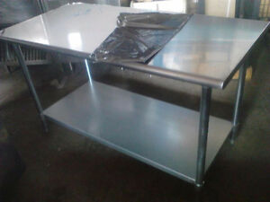 NEW !6 ft Stainless Steel Commercial Work Table  !SAVE!