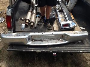 S10 rear bumpers