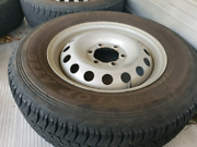 Hilux wheels Yarravel Kempsey Area Preview