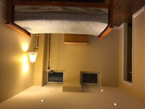 Clean, bright and spacious basement apartment for rent
