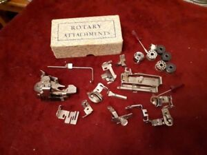 vintage rotary attachments - griest