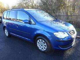 Volkswagen Touran 1.9TDI ( 105P ) ( 7st ) 2008MY S One lady owner full history