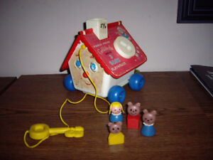 FISHER PRICE GOLDILOCKS