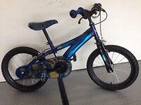 Kids bike with free optional Stabilisers