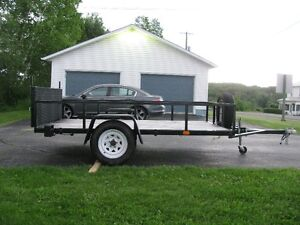 BRAND NEW HEAVY DUTY CUSTOM UTILITY/LANDSCAPE 6' x 10' TRAILER