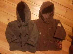 12-18 month old coat