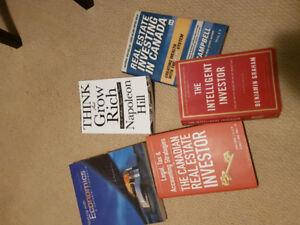Real estate investment and economics books