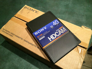 Sony BCT-40 HD HDCAM HDVS Video Tape NEW for HDW 500 700 750 900