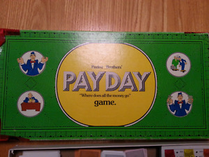 Vintage Payday Game 1974 Parker Brothers