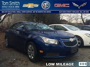 2013 Chevrolet Cruze LT Turbo   - Certified - Low Mileage