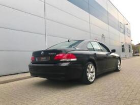 2008 08 reg BMW 730d Sport Black + Black leather + Nice Spec