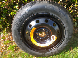 Space saver wheel &tyre for Ford ka &fiat 500.