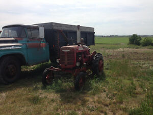 1945 Farmall A Tractor With Belly Mower