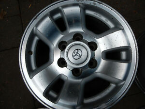 Brand: TOYOTA TACOMA OR 4 RUNNER ALLOY RIMS. 6 BOLTS (708)