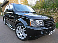 2008 RANGE ROVER SPORT 2.7 TDV6 HSE AUTO. CAMBELTS REPLACED !!