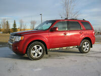 2009 FORD ESCAPE LIMITED FULL LOAD V6 4X4 LEATHER HEATED SEATS