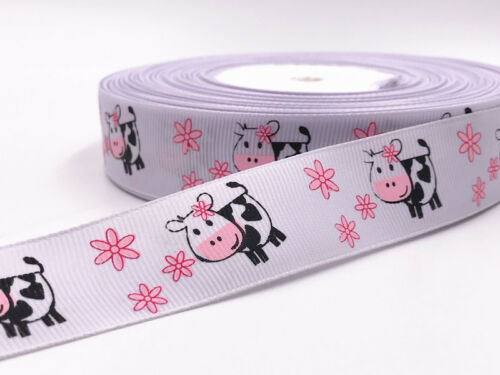 DIY 5 Yard 1/'/' 25mm Insect Cherry patterns bow Ribbon Crafts Sewing Ribbon