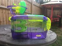 Glow In The Dark Hamster Cage