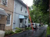 Does your Home Inspector have a Ladder that can reach the Roof?