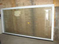 41/2 ' x 9'  double pane Picture Window (wood)