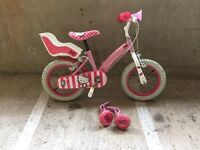 Hello Kitty girls bike & helmet