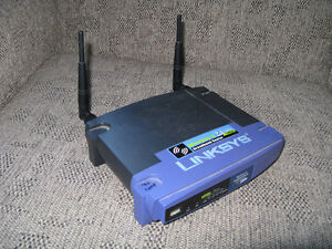 For Sale: Linksys WRT54G v.3 b/g WiFi Router