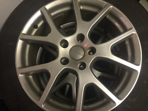 Dodge 19 inch OEM alloy rims and all-season tires 225 55 19