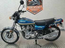 1975 KAWASAKI Z900 Z1B IN BLUE. BEAUTIFUL EXAMPLE.