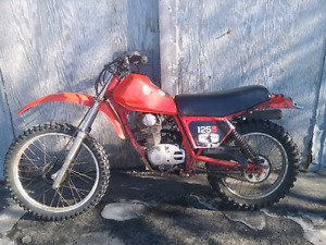 Honda xl125 1982