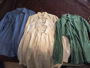 MENS DRESS SHIRTS (BOLTON)