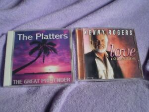 cd music kenny rogers love collection/the platters the great ...