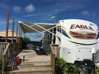 2012 Power trailer awning