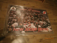 POSTER / AFFICHE 1995 STANLEY CUP CHAMPIONS NEW JERSEY DEVILS