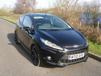 """2010 Ford Fiesta 1.6 Zetec S, ONLY 30,497 MILES, BLACK 17"""" ALLOYS, *SALE NOW ON*"""