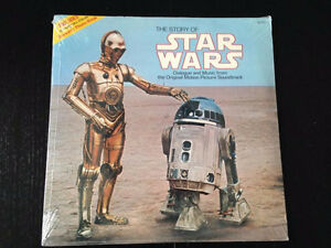 RECORD--THE STORY OF STAR WARS---NEW