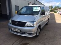 2006 Toyota Hi-ace 2.5 D4D, 95ps, Swb, 1 owner from new!