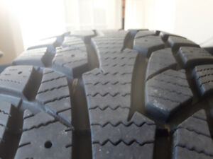 Snow tires for sale - Used for one season only