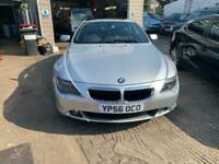 2006 BMW 6 Series 630i Sport 2dr Auto Coupe Petrol Automatic