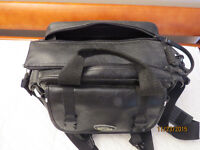 OPTEX LEATHER LOOK CAMERA BAG