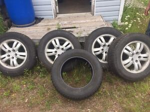 "4 16"" summer tires 1 all season spare"