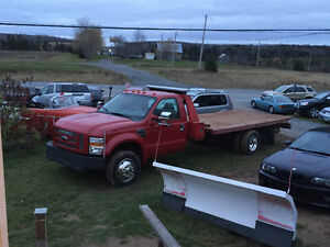 2008 FORD F450 DIESEL 6SPD 19FT DECK WITH WHEELLIFT