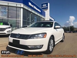2015 Volkswagen Passat 2.0 TDI Comfortline  Leather, Backup Came