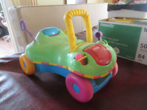 FREE Baby Toddler Playskool Push Walker and Fisher Price chair