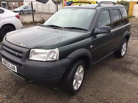 Land Rover freelander with 12 months mot